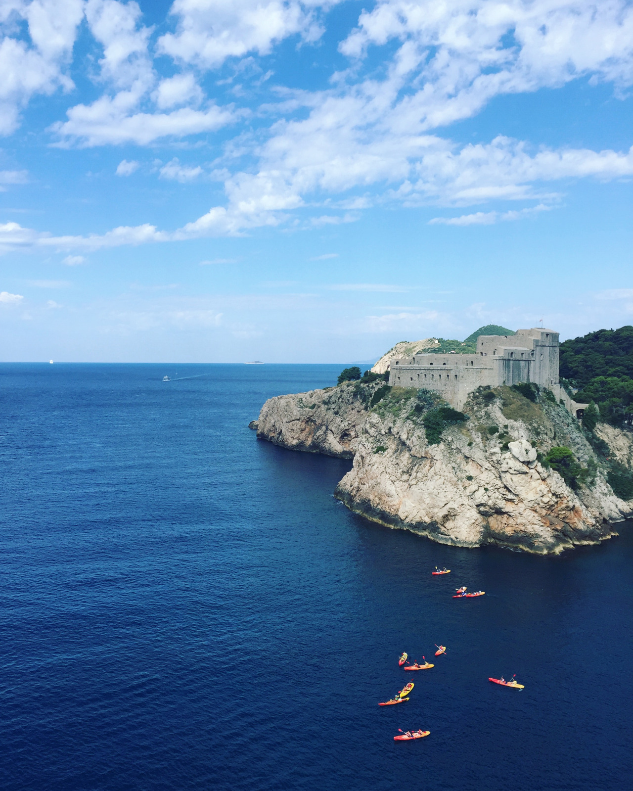 """""""A view from the wall of the old city in Dubrovnik, Croatia."""" - Emily Kropp, Director of Social Media"""